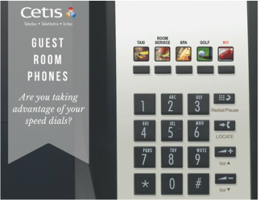Guest room Phone Service Key Revenues