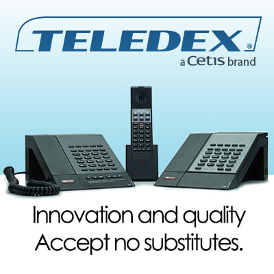 Teledex Hotel Phones