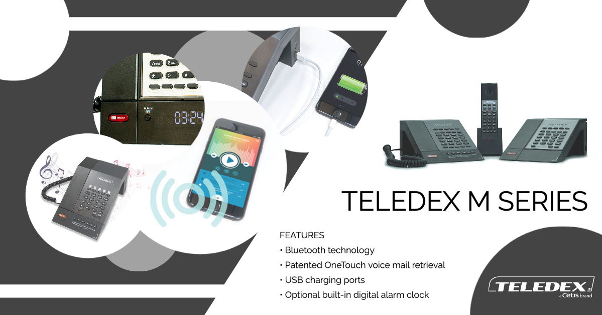 Teledex-M-Series-Hotel-Phones